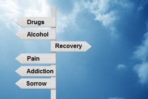 image showing the possible directions for addiction